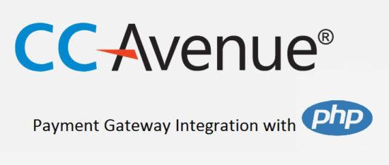 CCAVANUE Payment Gateway Integration Using PHP